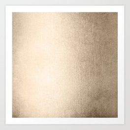 White Gold Sands Art Print