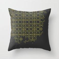 Gold&grey Throw Pillow