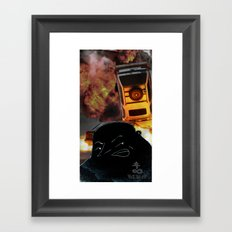 United Coalition of Bad Men Framed Art Print