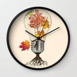 Fall (autumn) Wall Clock