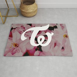 twice floral Rug