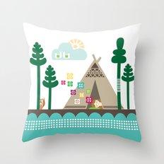 Midsummer Dreams Throw Pillow