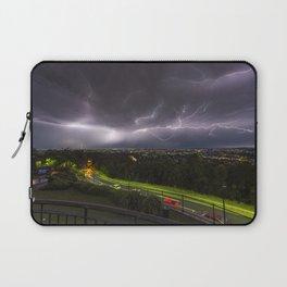 Summer Storm Over Brisbane Laptop Sleeve