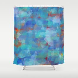 Paint Strokes Two Shower Curtain