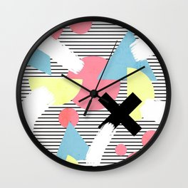 80's Theme Wall Clock