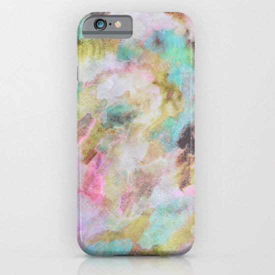 Abstract Clouds iPhone & iPod Case