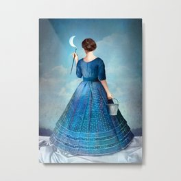 Nachtmalerei Metal Print