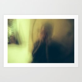 Miguel Blur Art Print