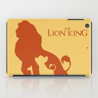 simba iPad Cases featuring The Lion King by Citron Vert