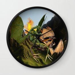 Battle for Dragon Mountain Wall Clock