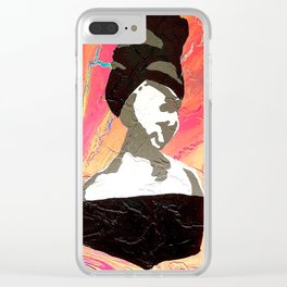 Title: Paint By Numbers #256: Cracked But Not Broken Clear iPhone Case