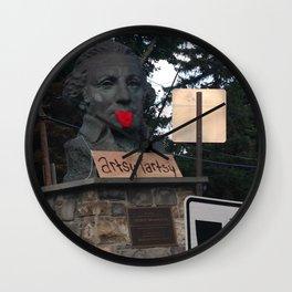 Windows On Main Street 2015 - Artsy Tartsy George Wall Clock