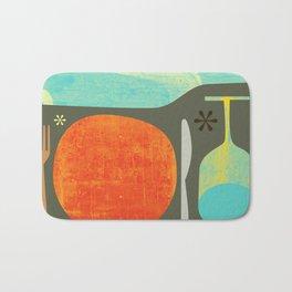 Wine & Dine Kitchen Art Bath Mat