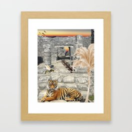 Chichen Itza Framed Art Print