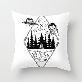 Always Here Throw Pillow