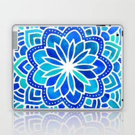 Mandala Iridescent Blue Green Laptop & iPad Skin