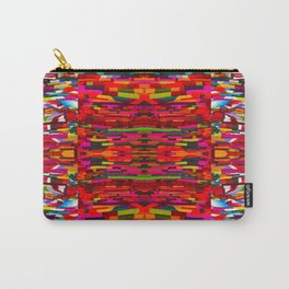 Colorful Blanket Textile Carry-All Pouch