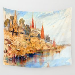 Edward Lear Benares Wall Tapestry