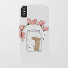 Je t'aime toujours iPhone Case