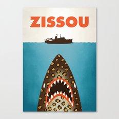 Zissou Canvas Print