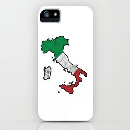Patriotic Italy Flag Patriot Italian Nationalism iPhone Case