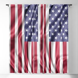 Flag of United States of America Blackout Curtain