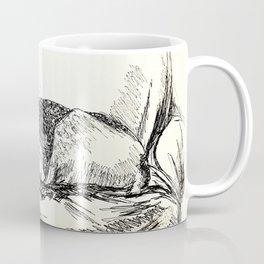 Elwood sleeping Coffee Mug