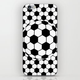 Black and White 3D Ball pattern deign iPhone Skin