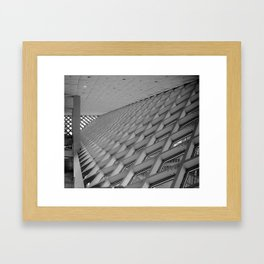 Detail of the Seattle Central Library Framed Art Print