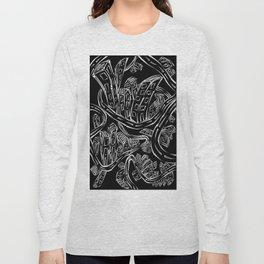 Entangled City Inverted Long Sleeve T-shirt
