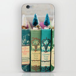 Christmas in Green iPhone Skin