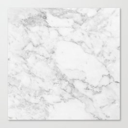 White Marble Edition 2 Canvas Print