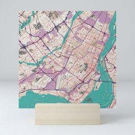 Montreal Map Mini Art Print