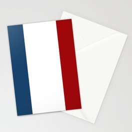France: French Flag Stationery Cards