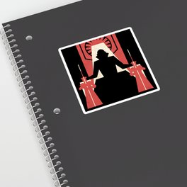 First Order Poster ( Snoke) Sticker