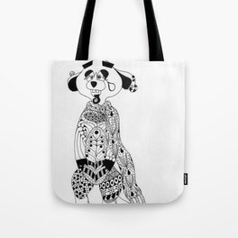 Malcolm the Maladjusted Meerkat Tote Bag