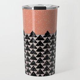 Pixels Christmas  Travel Mug