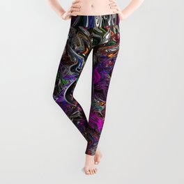 Through the Looking Glass Leggings