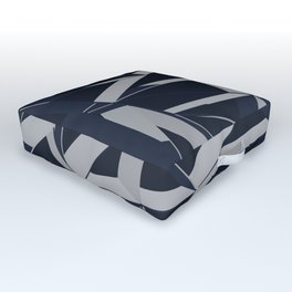 3D Futuristic GEO Outdoor Floor Cushion