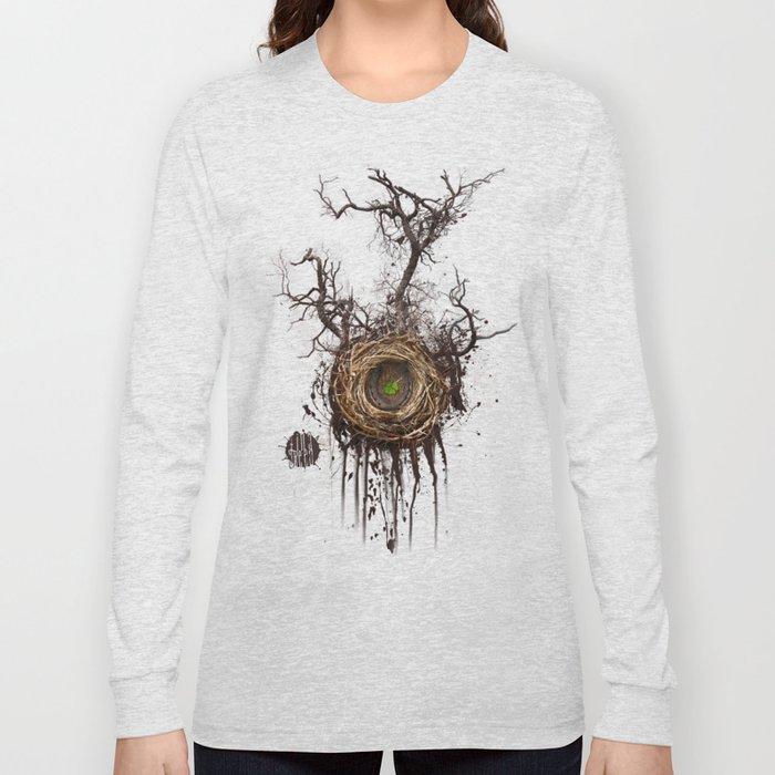 Bird Nest Long Sleeve T-shirt