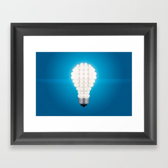 Here's an idea! Framed Art Print