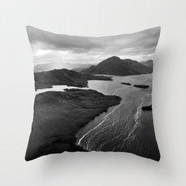 Bathurst Harbour, Tasmania Throw Pillow