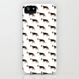 German Shepherd: Panda iPhone Case