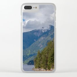 Land and Water Clear iPhone Case