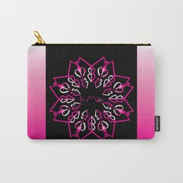 Be Mine - Black/Pink Carry-All Pouch