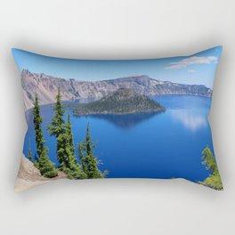 Deep Blue Carter Rectangular Pillow