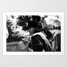 Danza Art Print