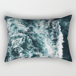 Green Seas, Yes Please Rectangular Pillow