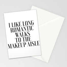 GIRLS BEDROOM DECOR, Makeup Aisle,Makeup Quote,Fashion Print,Girly,Gift For Her,Printable Art,Girls Stationery Cards