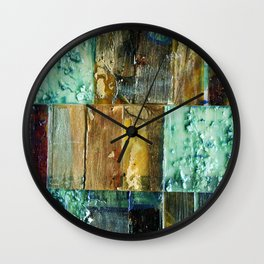 Strip Search Detail #2 Wall Clock